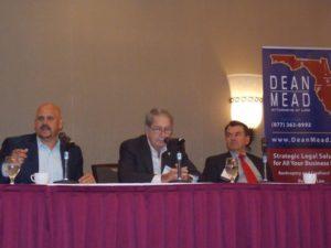 L to R: Rep. Ritch Workman, Rep. Tom Goodson, Sen. Thad Altman