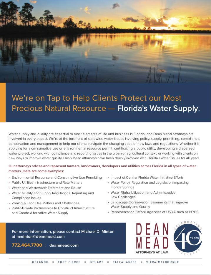 Dean Mead on Water Law